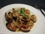 Prosciutto and Manila Clam Spaghetti