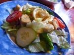 Green Salad with Honey Mustard Sauce