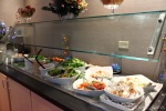 Salad bar and cheese display