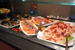 Mosaic seafood bar and smoked salmon platter