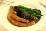 Hoi Tong - Braised Sea cucumber with goose's foot