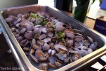 Clams cooked in sake