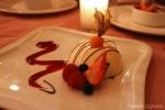 Raspberry White Chocolate Ganache Cake