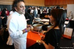 Chef Vij chats with Joyce