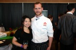 Joyce and Chef Ryan Stone
