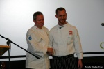 Chef Ryan Stone (R) and mentor Chef Scott Jaeger