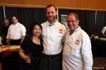 Joyce, Chef Ryan Stone and Chef Vincent Parkinson