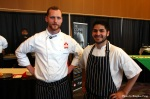 Chef Ryan Stone and Commis Talib hudda
