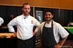 Chef Ryan Stone and Commis Talib hudda