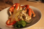 Course 3 - Baked Dungeness Crab
