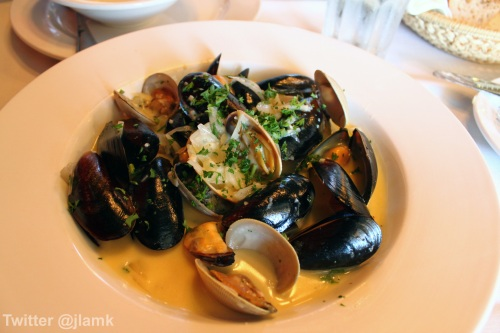 Salt Spring Island Mussels and Clams