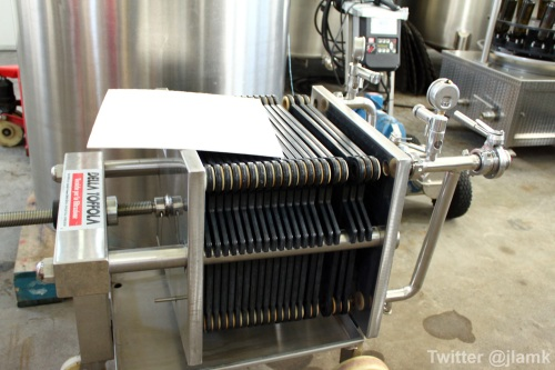 The Fort Wine Co.: The filtering system