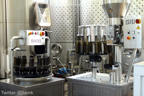 The Fort Wine Co.: The bottling system