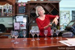 The Fort Wine Co.: Staff pours wine for tasting