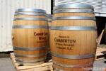 Domaine de Chaberton: Wine barrels