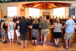 Domaine de Chaberton: Busy wine shop