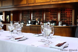 Wine tasting at Seasons Winebar