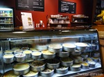 Different sizes, different flavours of cheesecakes