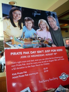 Pirate Pak Day Poster