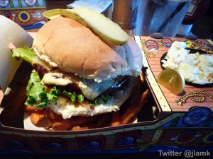 Pirate Pak with Smokey BBQ Bigger Burger and Yam Fries