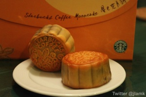 Starbucks Mooncakes
