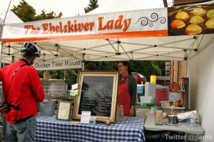 The EbelSkiver Lady booth