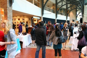 History of Chocolate Reception at Port Moody Galleria