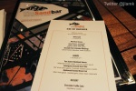 Sandbar's Dine Out Menu