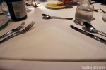 Triangular Table Setting