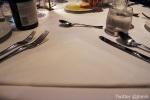 Triangular Table Setting
