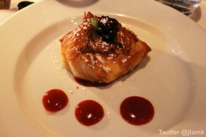 White Chocolate Mascarpone Cheesecake in Phyllo