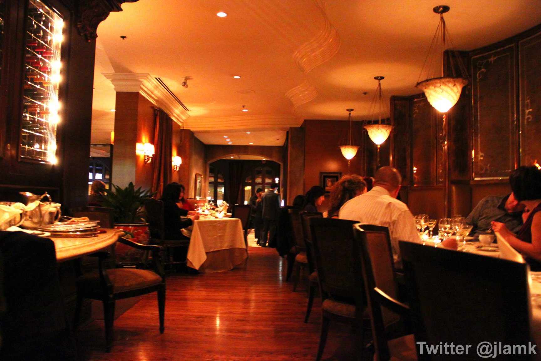 Bacchus restaurant interior vanfoodies