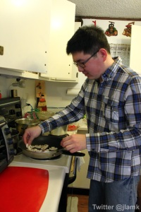 Chef Mr. at work