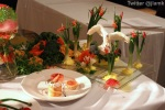 The Chinese Canadian Chef Association won the Best Display Award