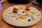 RiverRock: Osmanthus Flower Jelly, Violat Caramel, Mango Spheres