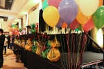 Prizes were given out and fundraising balloons were sold
