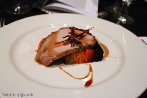 Goldfish: Yuzu Marmalade Glazed Pork Loin
