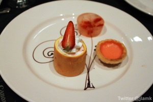Chinese Canadian Chef Association: Trio of Strawberry Dessert