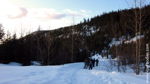 The hike up to the Bower Island Lookout