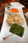 Rice Crackers with Dip