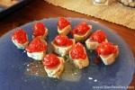 Tomatoes & Seared Tuna