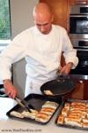 Preparing Seared Halibut Filets for BBQ Grill
