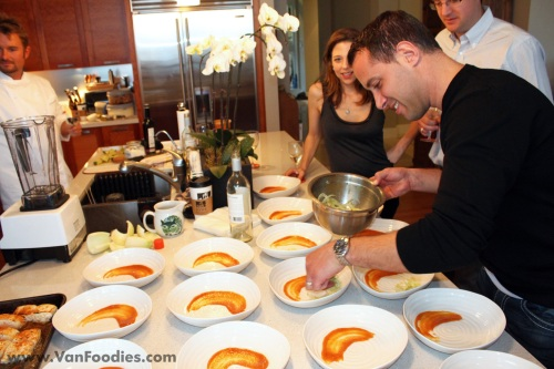 Attendees invited to help with dishes