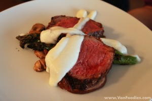 3rd Course - Roasted Angus Beef Striploin