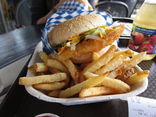Burger At Montgomery S Vanfoodies Com