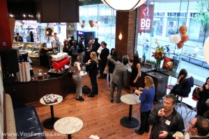 Grand opening of BG Urban Cafe downtown