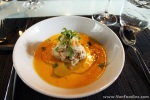 Dungeness Crab with Spiced Melon Soup