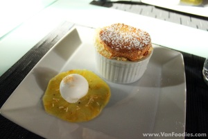 Soufflé of the Day - Pineapple