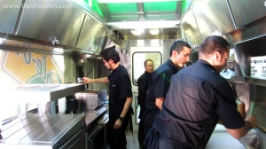 Cooks at work