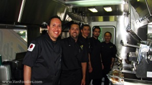 Executive Chef Danny and his team of cooks